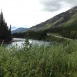 Pretty river in British Columbia