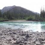 Pretty river panorama