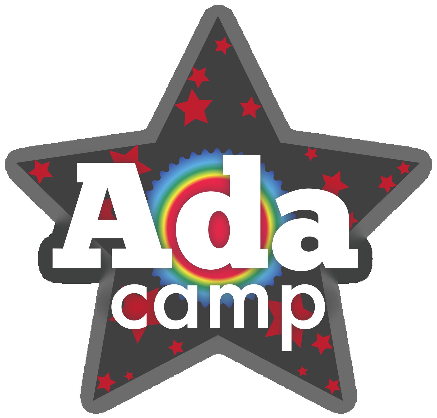 the AdaCamp star